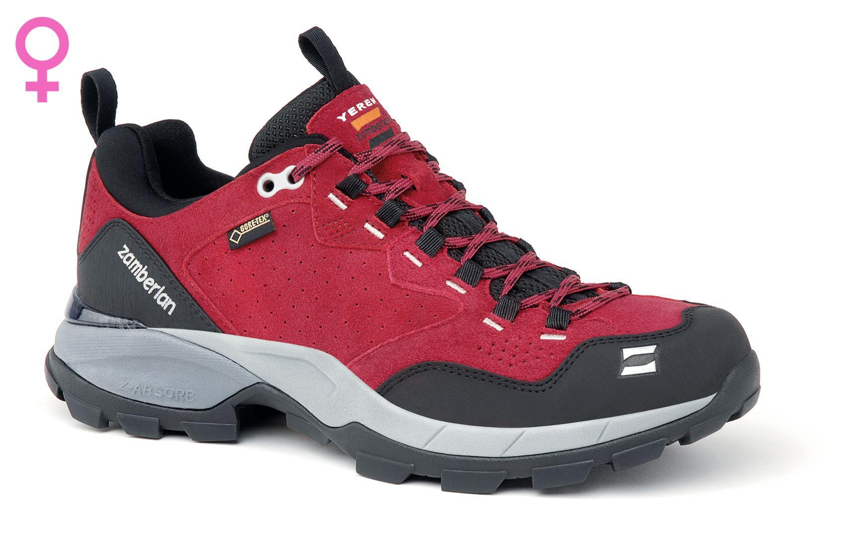 900493b43d4 152 YEREN LOW GTX® RR WNS - Red Women's Hiking Shoes Zamberlan   Zamberlan