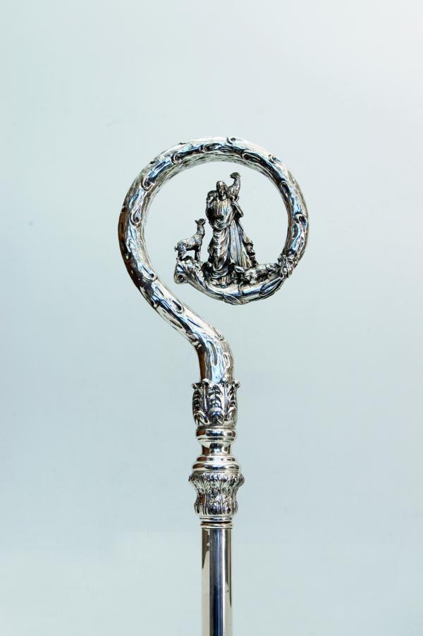 Pastorale in argento mda804 pietrobon arredi sacri for Pietrobon arredi sacri