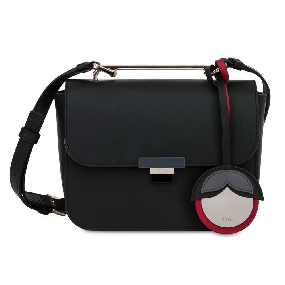 9c241ec1c6ded Hand and shoulder bag Furla ELISIR 929454 ONYX+MERCURIO d ...