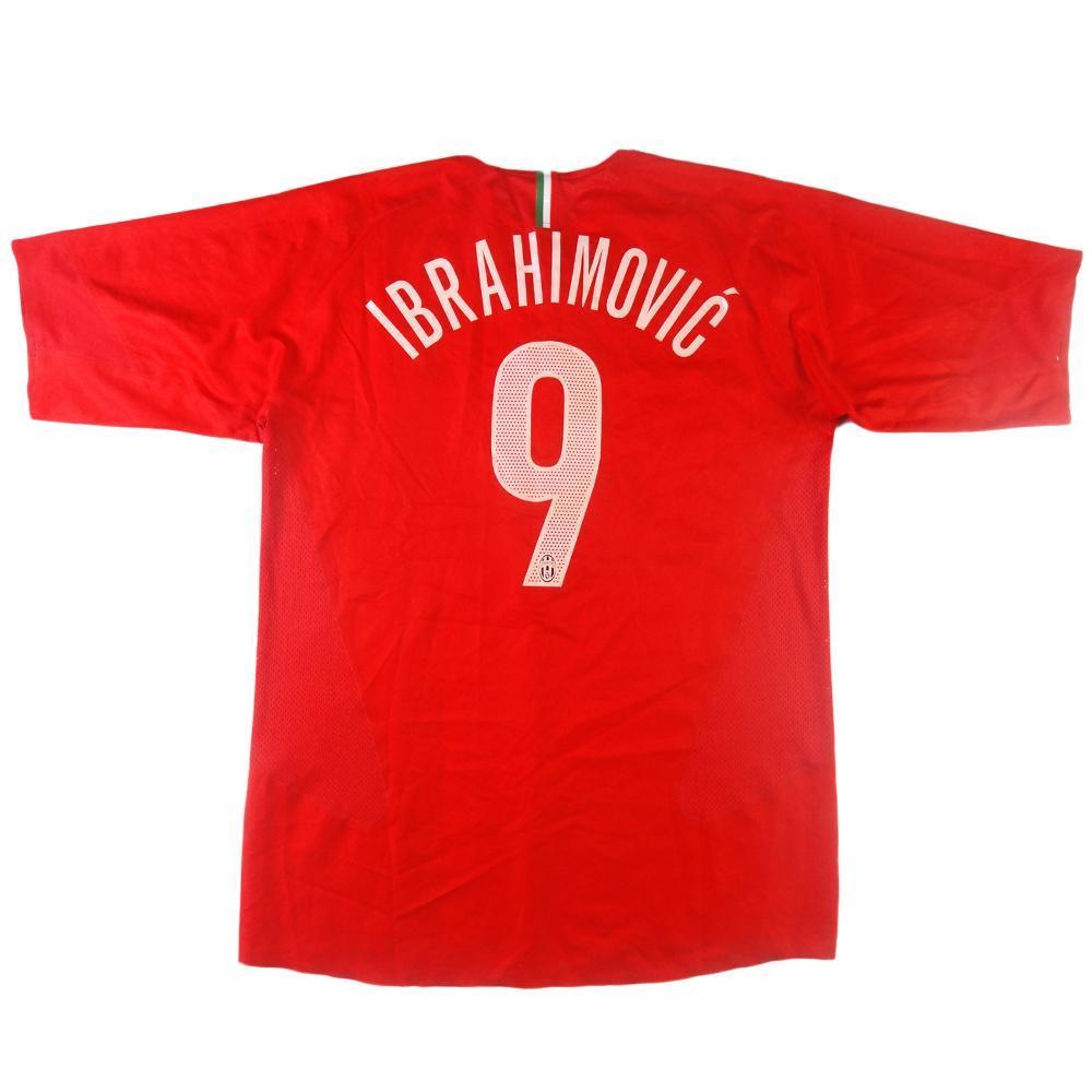 purchase cheap 4adc1 10aae 2005-06 Juventus Ibrahimovic shirt # 9 Away XL