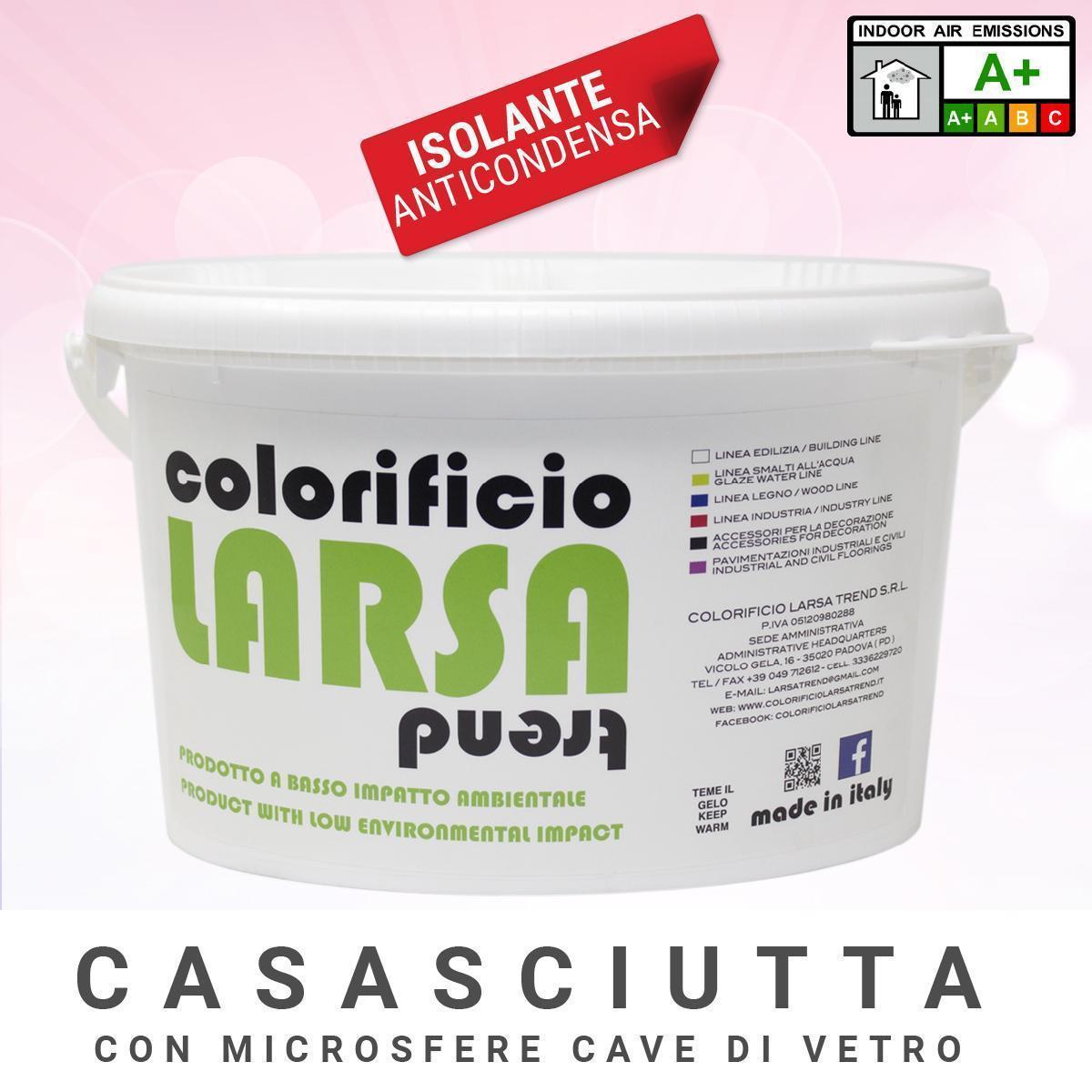 Casasciutta Pittura Con Microsfere Di Vetro Kit Fai Da Te Rullo