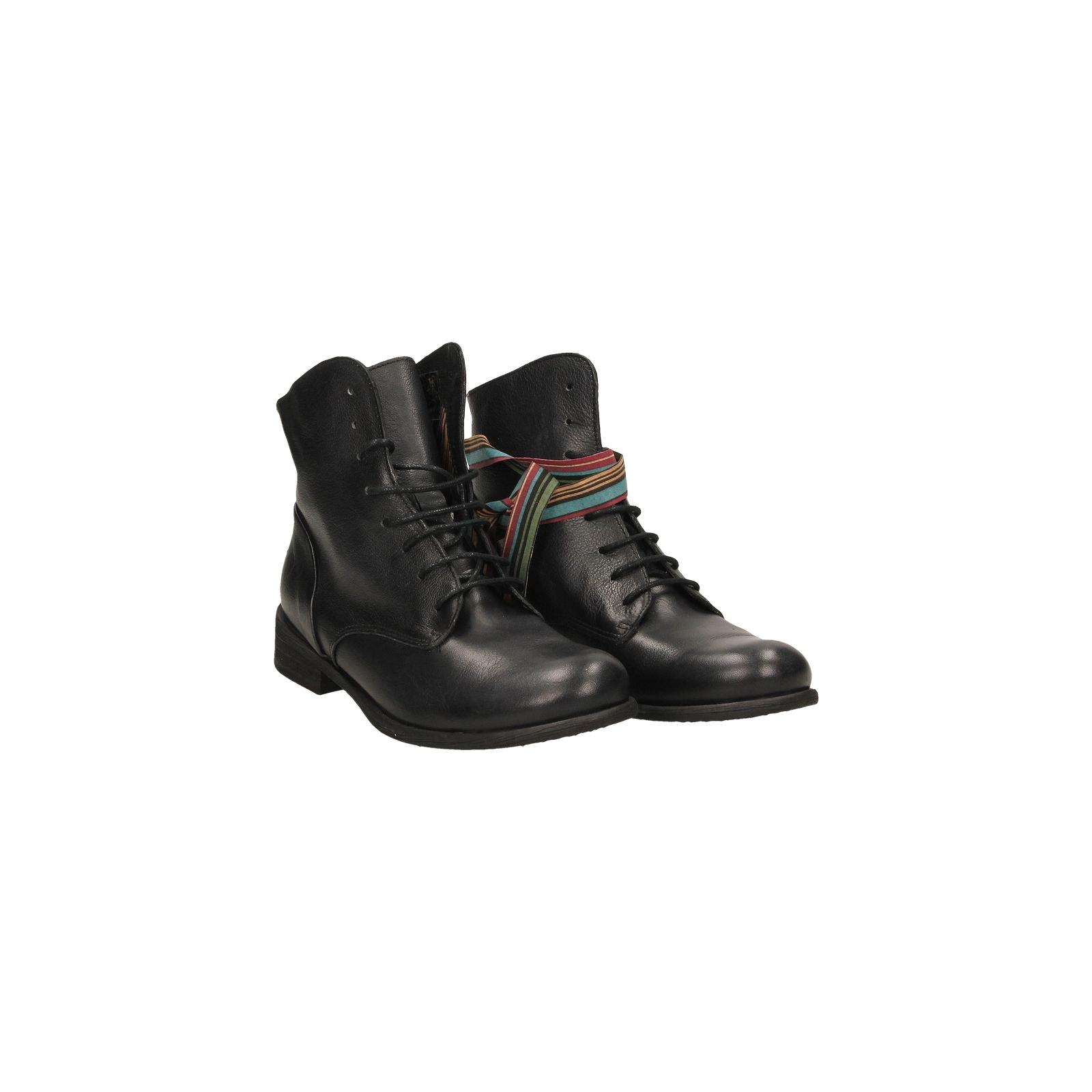 Tucci Design CLAUDIA Tall boot in black leather with front