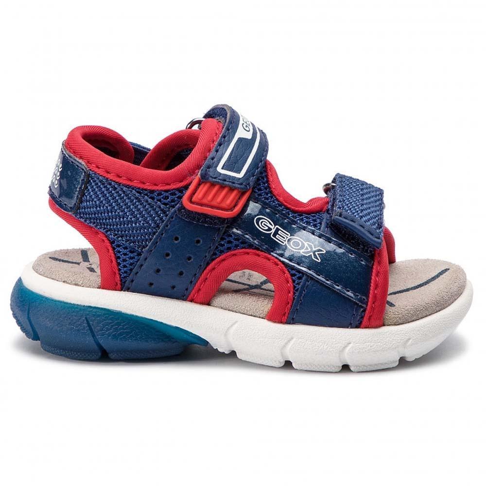 Super B922ub Sandalo Geox Luci Baby Boy Suola Flexyper Eva Leggera In n0m8wONv