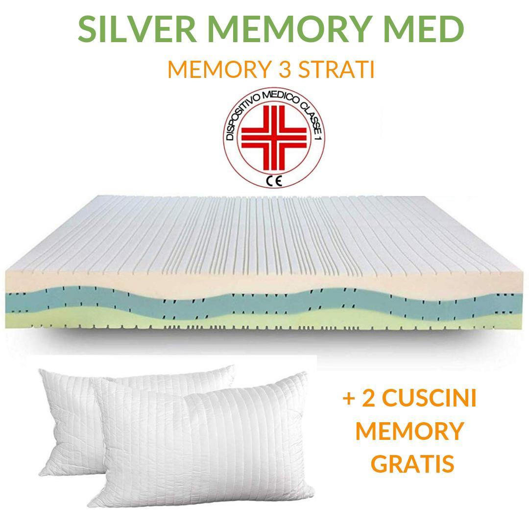 Materassi Memory Cosa Sono.Materasso Memory Ortopedico Dispositivo Medico H20
