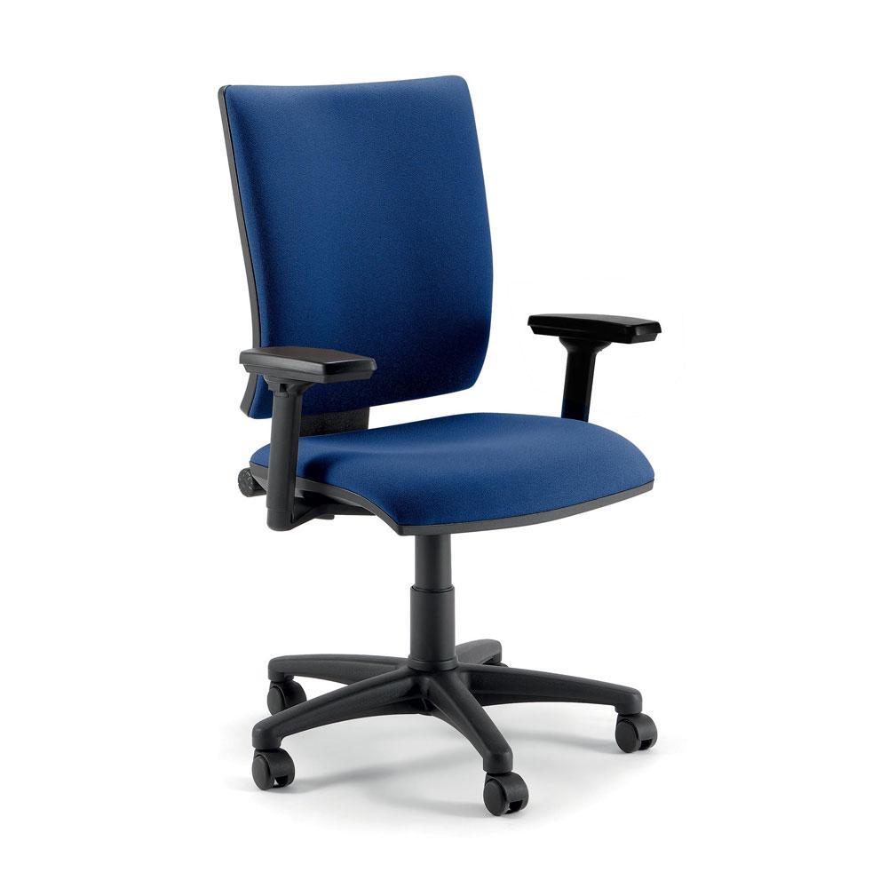 Sedia Ufficio Ergonomica Optima - Quadrifoglio | Schienale ...