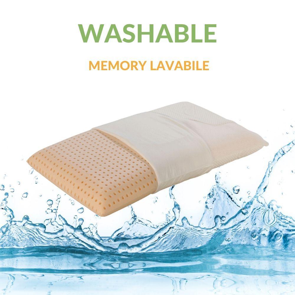Cuscini Memory Foam Si Possono Lavare.Cuscino Memory Lavabile In Lavatrice