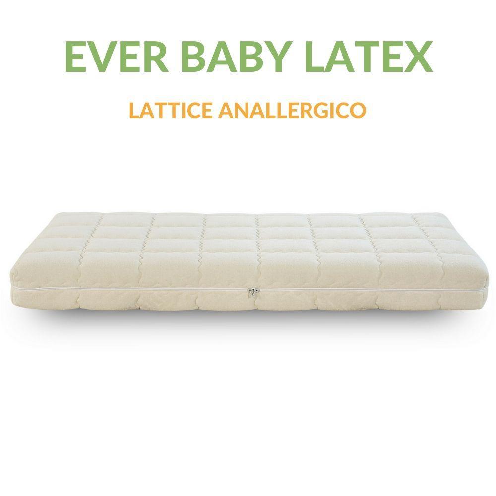Materasso In Lattice Per Bambini.Materasso Lattice Per Bambini 60x120 Cm Ever Baby Latex
