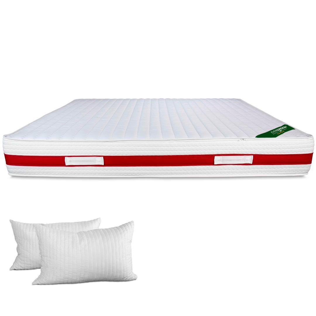 Materasso Fashion Memory Foam Alto 22 Cm Con Cuscini Cervicale Gratis Evergreenweb Materassi Beds