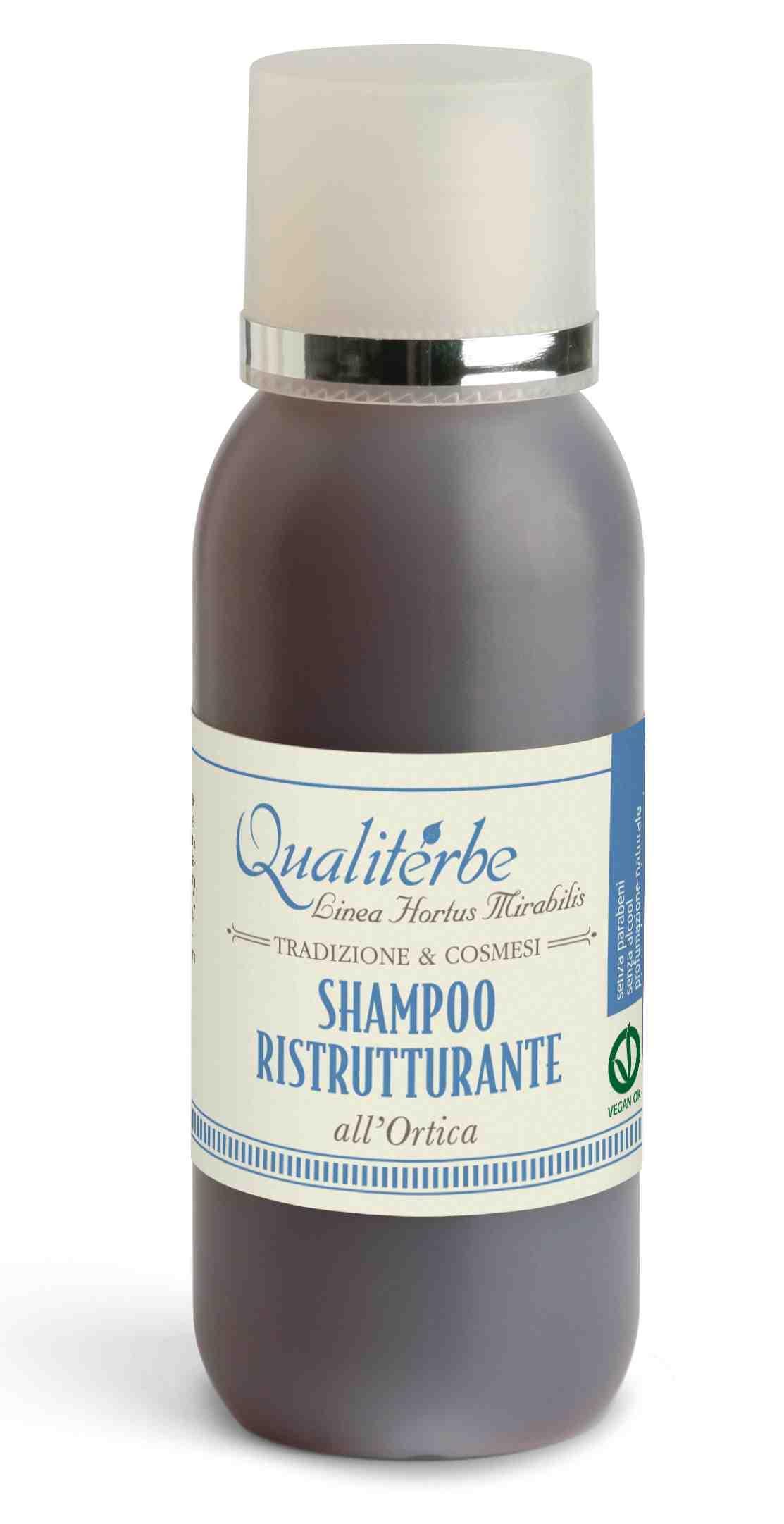 Shampoo ristrutturante al succo di Ortica 75%