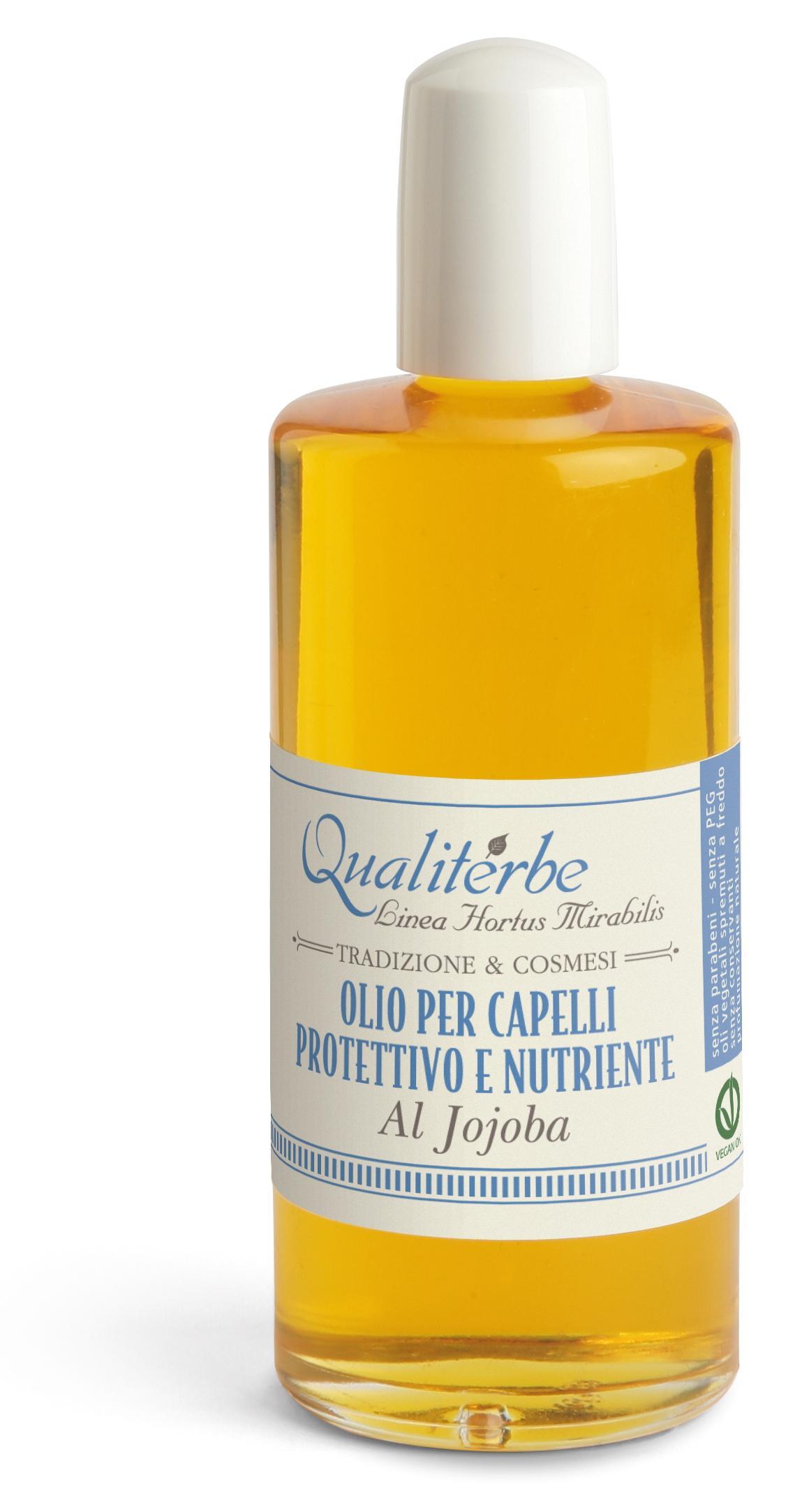 Olio per capelli protettivo e nutriente al Jojoba 15%