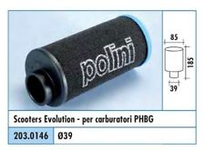 203.0146 FILTRO ARIA EVOLUTION 2 CARBURATORE PHBG POLINI