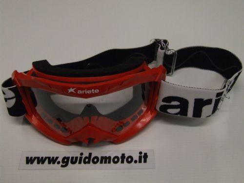 Occhiale MX 07. Rosso. Ariete