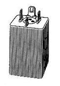 Intermittenza frecce 12v 24w corrente continua per ape p50