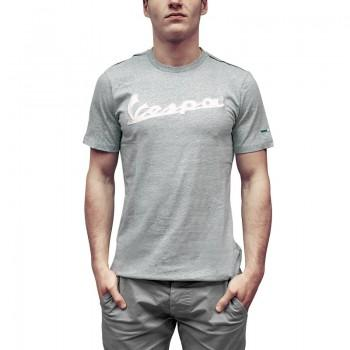 T-shirt grigia melange logo vespa tg.xl
