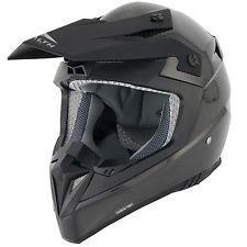 Casco stealth hd210 per cross enduro motard quad in carbonio 100% tg l