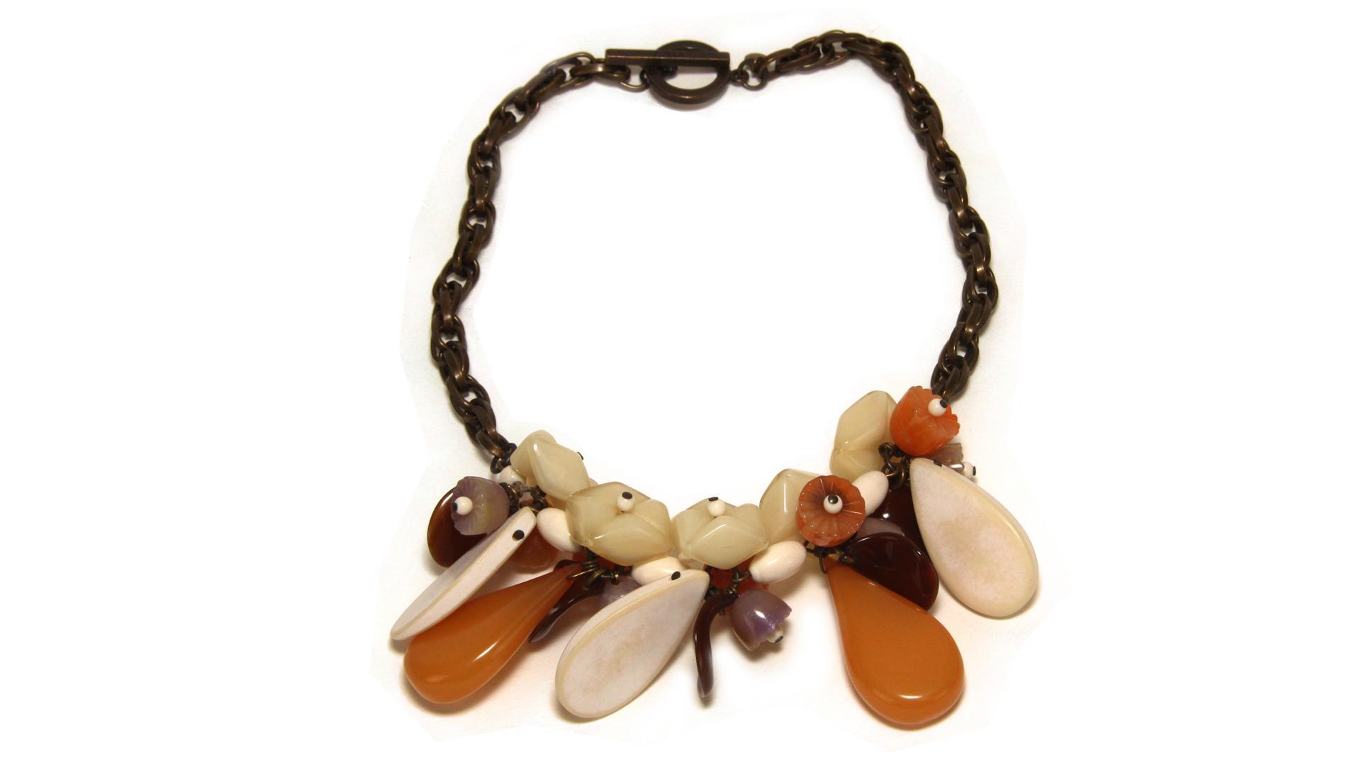 Necklace  Furla D_Orsay 630495 Toni naturali