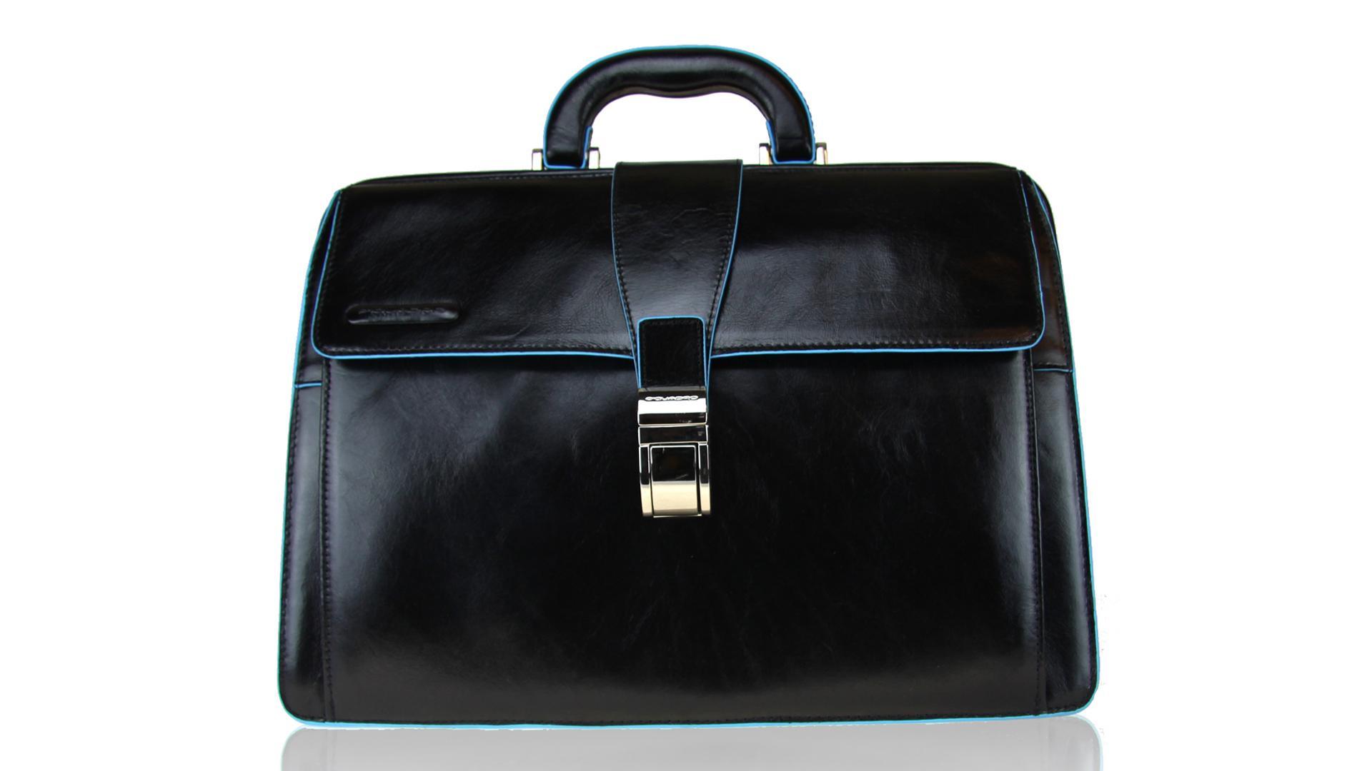 Briefcase  Piquadro Blue square CA2007B2 NERO