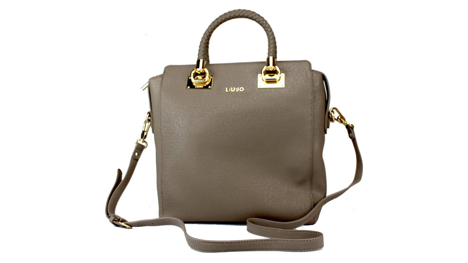 Hand and shoulder bag  Liu Jo Anna N65088 E0087 TORTORA