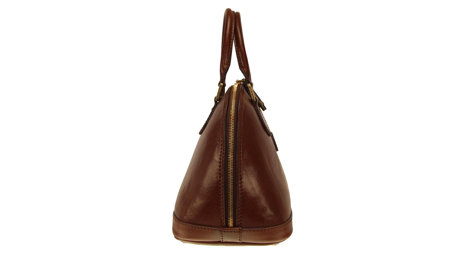 Hand and shoulder bag  The Bridge  04855901 14 cuoio