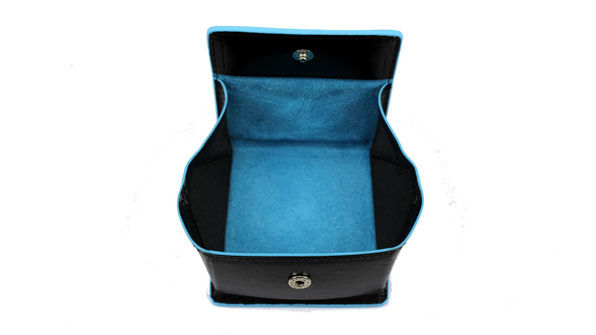 Porta spiccioli Piquadro Blue square PU2634B2 Nero