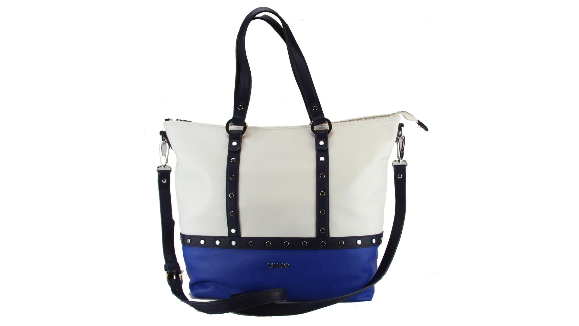 Hand and shoulder bag Liu Jo IO N16149 E0037 BLU PALAZZO