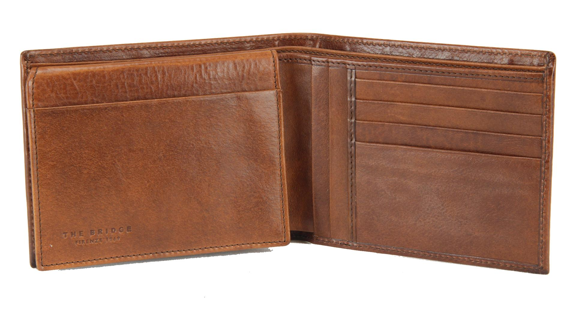 Man wallet The Bridge  01404701 14 Cuoio