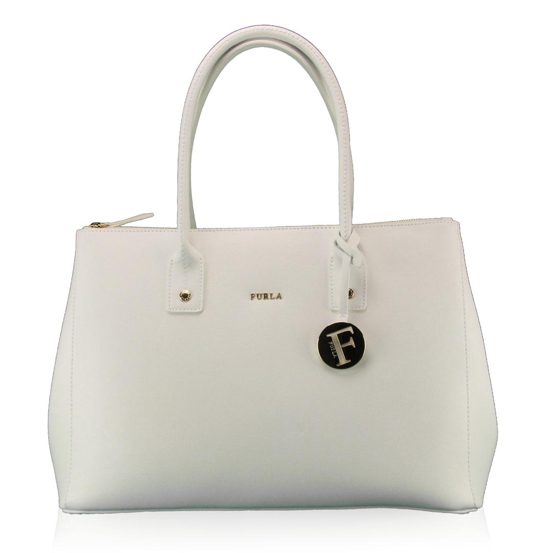 Shopping bag Furla LINDA 817547 CHALK