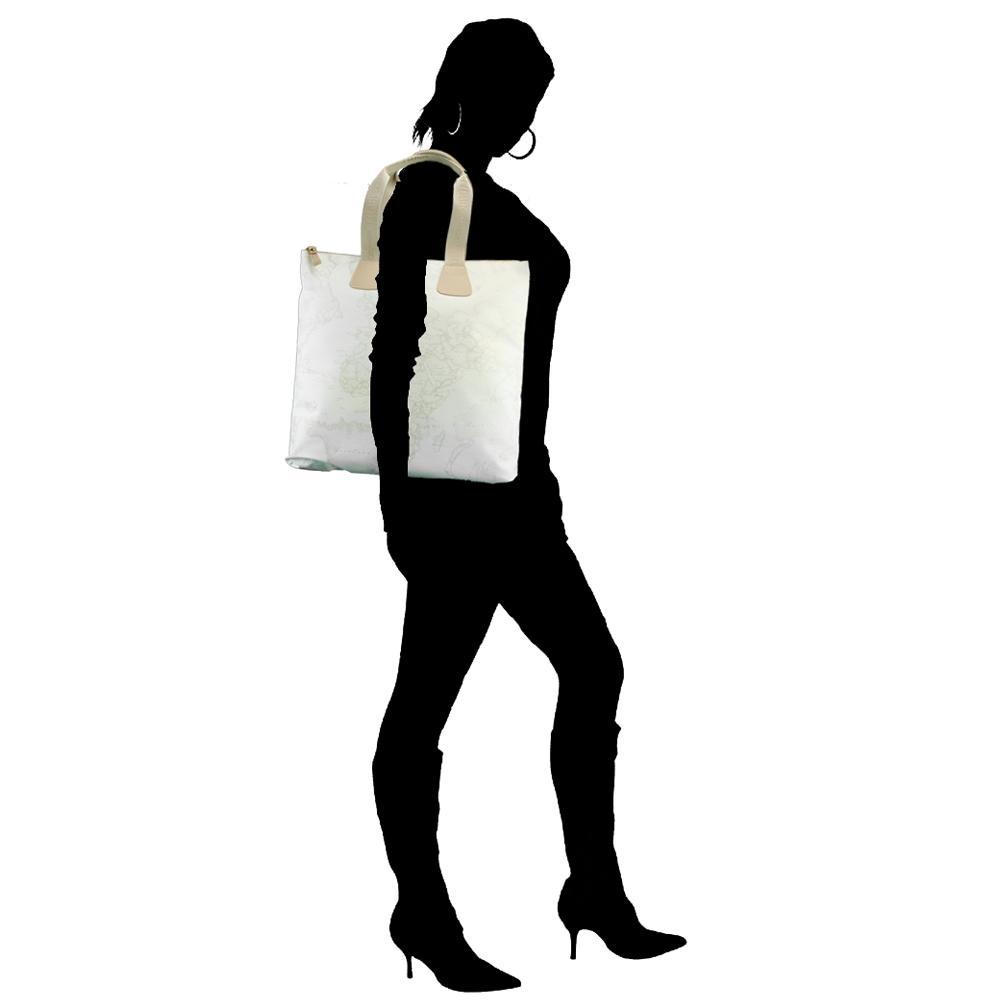 Shopping Alviero Martini 1A Classe Continuativo N274 6380 900 BIANCO