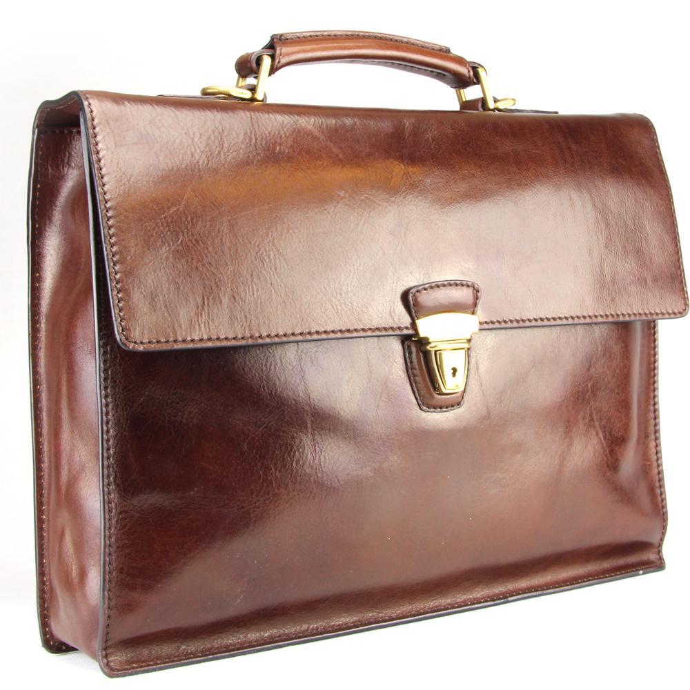 Briefcase The Bridge  06466501 14 Cuoio