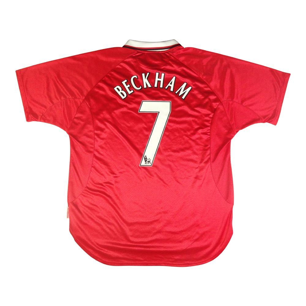 1999-00 Manchester United Maglia #7 Beckham XXL