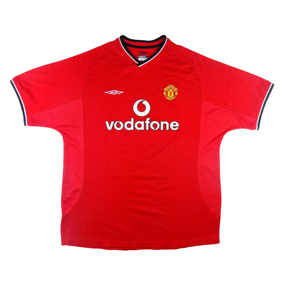 2000-02 Manchester United Maglia Home XL (Top)