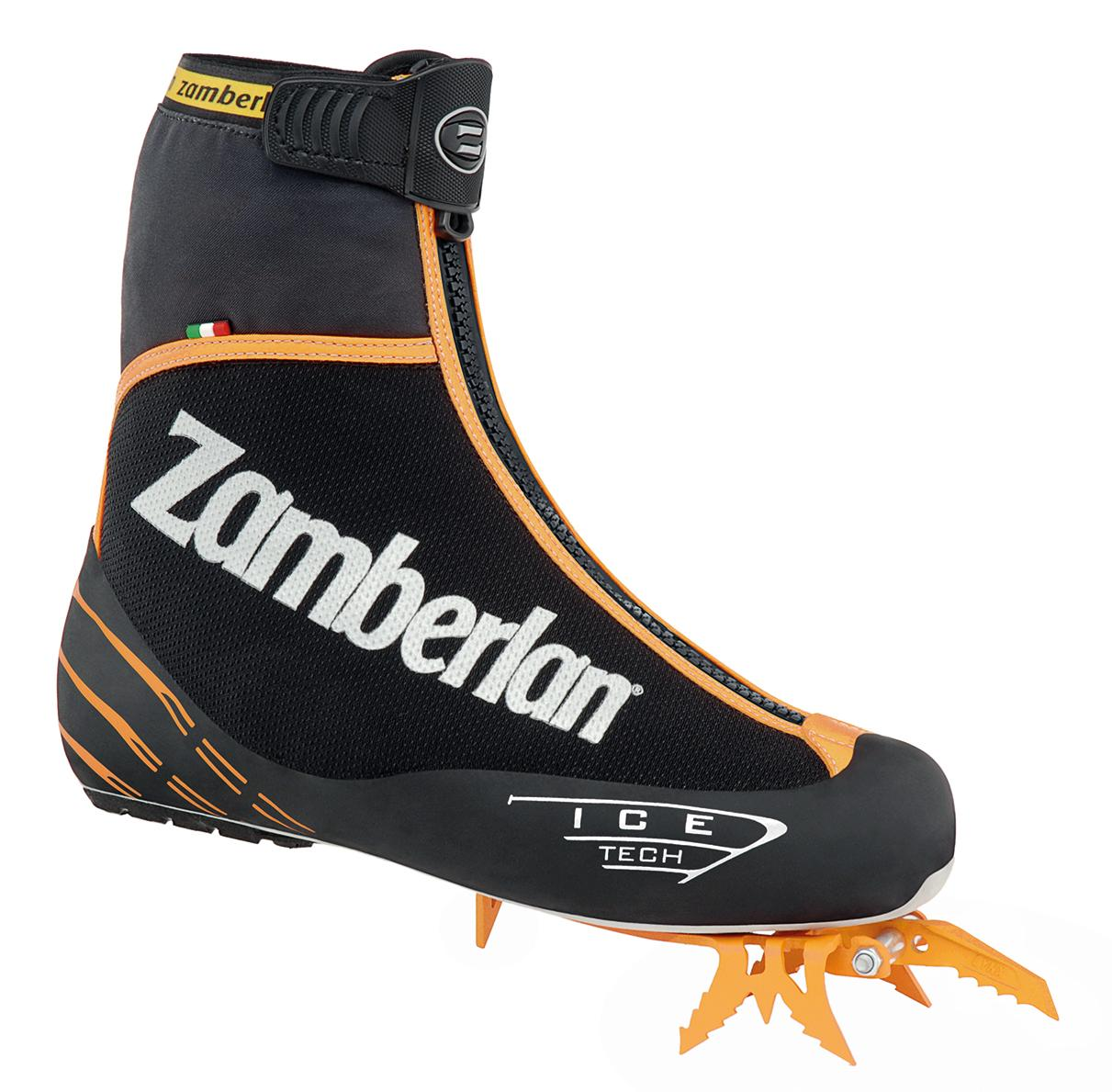 2000 ICE TECH EVO RR    -   Mountaineering  Boots   -   Black/Orange