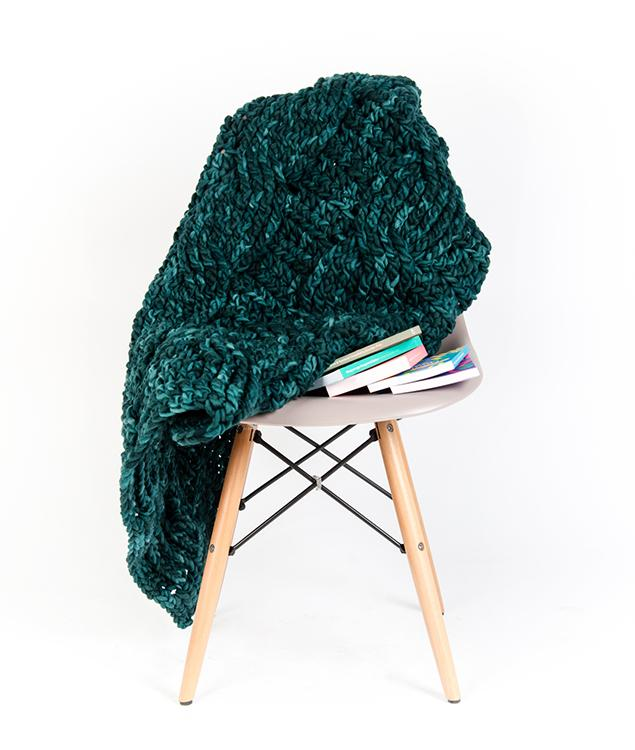 Homeware - Wool - Cable Blanket - 1