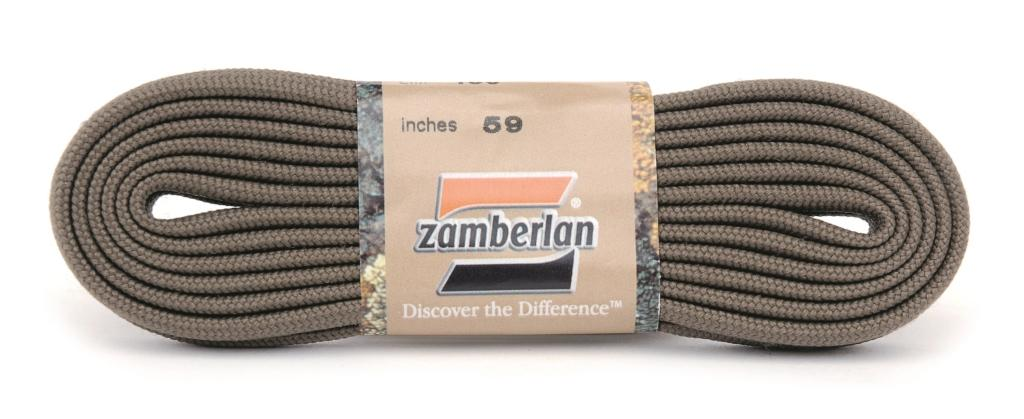 FLAT LACES ZAMBERLAN®   -   Light Grey