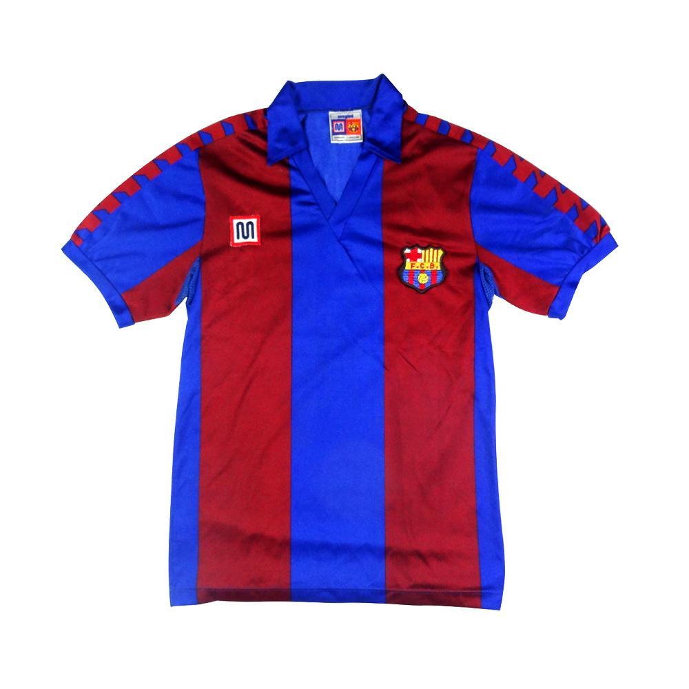 1984-89 Barcelona Maglia Home J (Top)