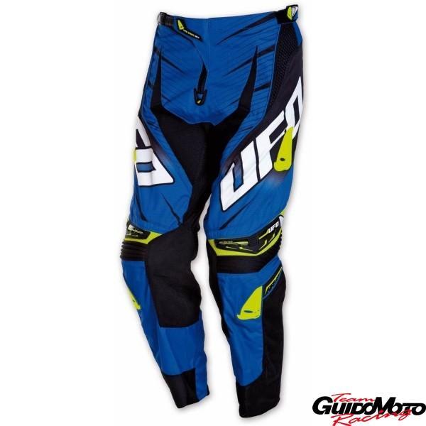 Pantaloni motocross Ufo mod. Voltage blu  tg. 50