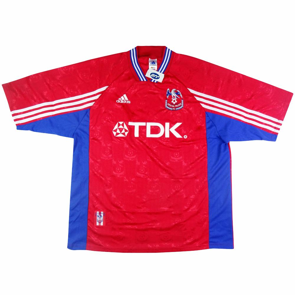 1998-99 Crystal Palace Maglia Home XL (Top) *Cartellino