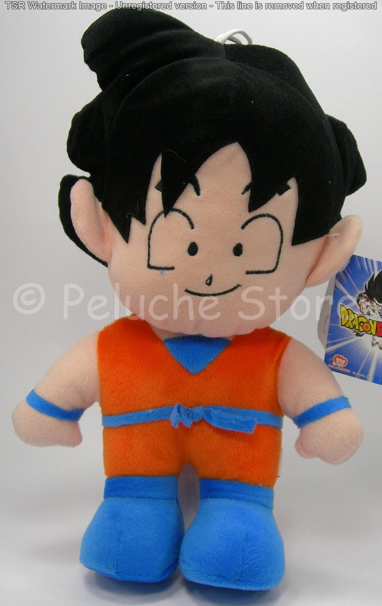 Dragon Ball Z peluche 30 cm Goku Vegeta Krillin Bulma Piccolo Originale