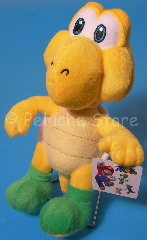 Super Mario Bros e amici peluche 20 cm Toad Yoshi Donkey Kong
