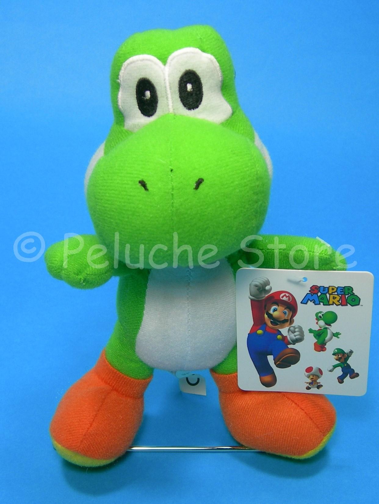 Super Mario mini peluche 15 cm Yoshi Originale