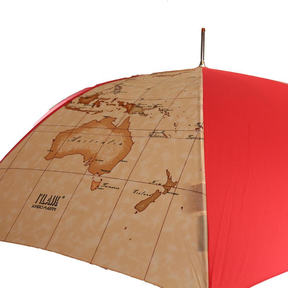 Umbrella Alviero Martini 1A Classe  65/8 Rosso