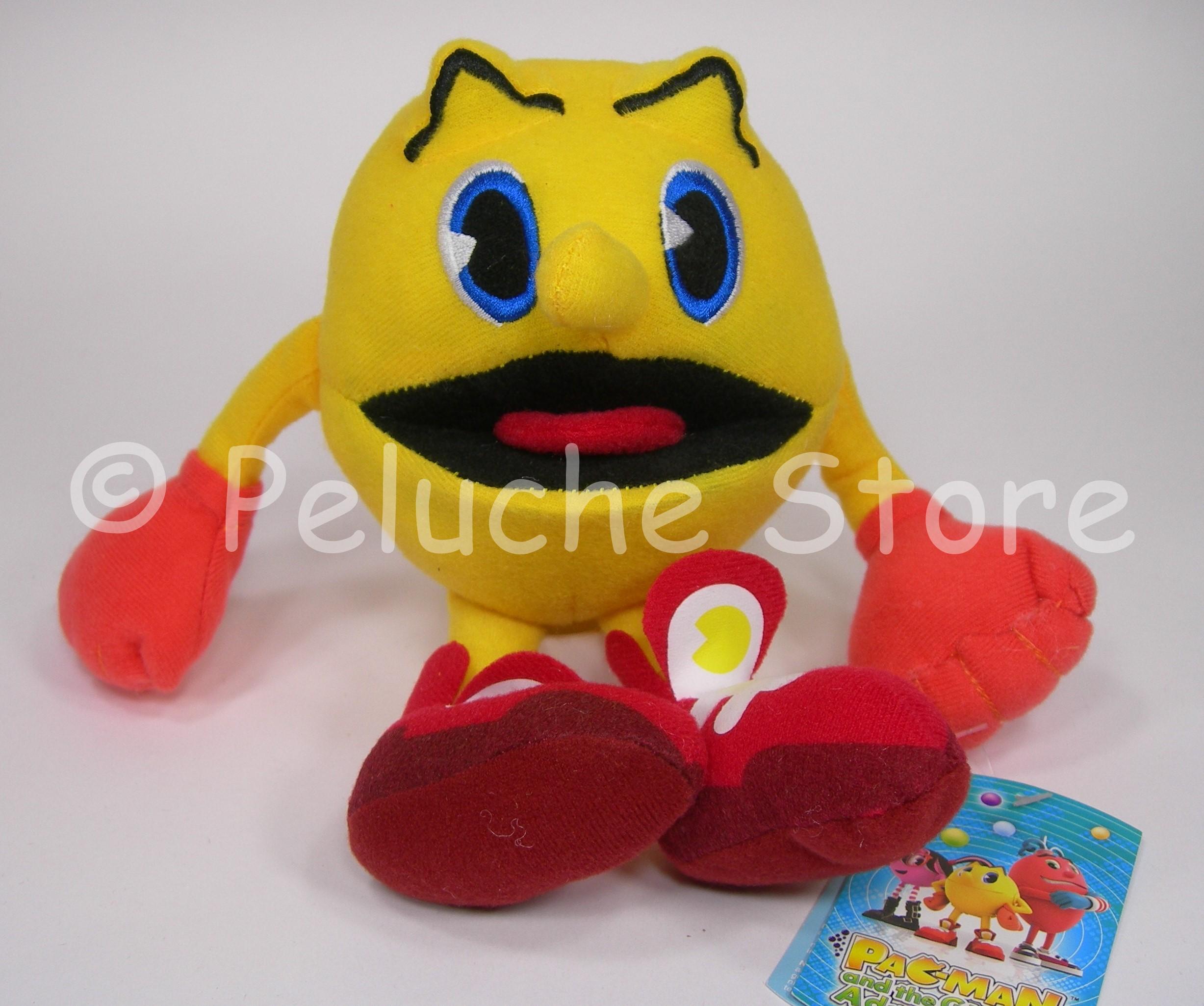 Pac Man Ghostly Adventures peluche da 10 a 15 cm Pacman velluto Originale