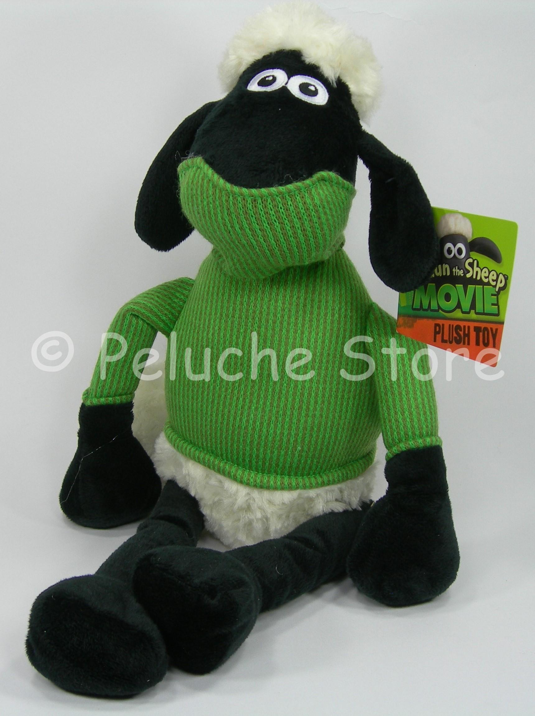 Shaun the Sheep Movie pecora e amici Peluche Grande 40 cm Originale
