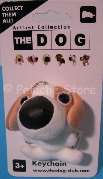 The Dog collection peluche 8 cm Portachichiavi Gancio Dalmata Yorkshire