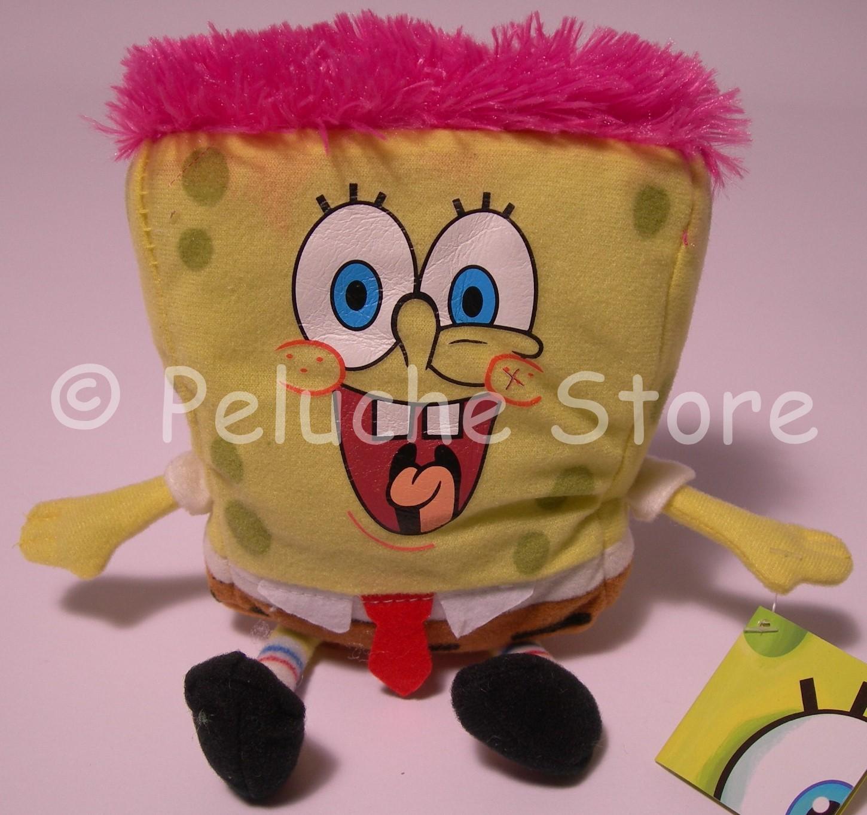 Spongebob facce peluche 15 cm Squarepants Originale Punk Super Eroe