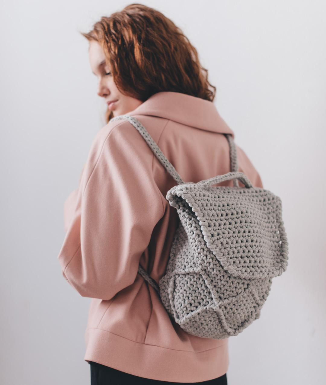 Bags  - Cotton - DIAMOND BACKPACK - 1