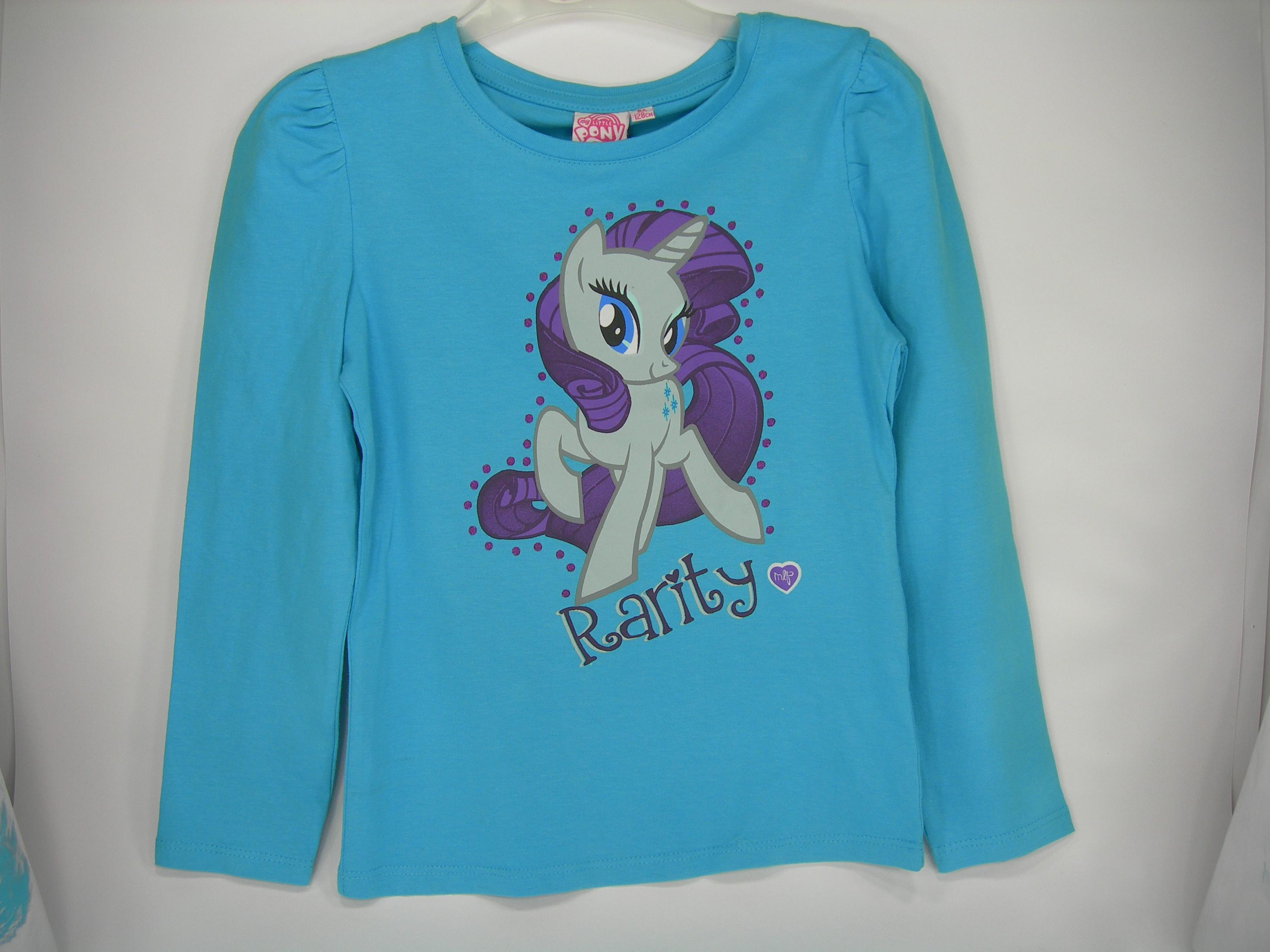My Little Pony Maglia T-Shirt bimba manica lunga cotone da 4 a 10 anni Bambina