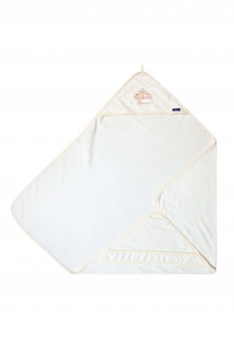 LITTLE PRINCESS - Bamboo-line - asciugamano con cappuccio in 100 % spugna di bamboo 85 x 85