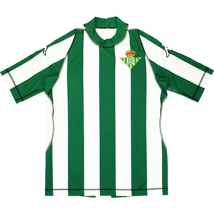 Detalles de 2003 04 Real Betis Camiseta Home L (Superior) SHIRT MAILLOT TRIKOT
