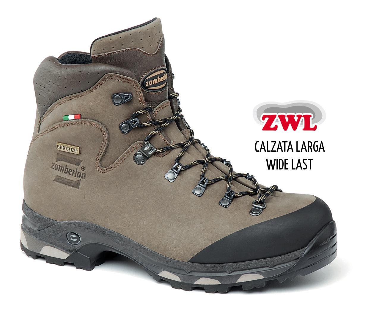 636 BAFFIN GTX RR WIDE LAST - Scarponi  Trekking - Brown